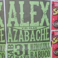 RABUCO: SÁBADO 31 DE MAYO DE 2014 - ALEX Y EL CLAN AZABACHE