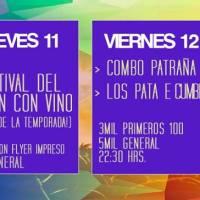 SANTIAGO: JUEVES 11, VIERNES 12 Y SÁBADO 13 DE FEBRERO DE 2016 - FONDA PERMANANTE LA POPULAR