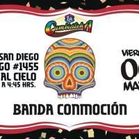 SANTIAGO: VIERNES 06 DE MAYO DE 2016 - BANDA CONMOCIÓN
