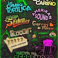SANTIAGO: SÁBADO 27 DE AGOSTO DE 2016 - FESTIVAL DEL TERREMOTO & LA CERVEZA