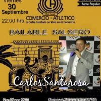 SANTIAGO: VIERNES 30 DE SEPTIEMBRE DE 2016 - BAILABLE SALSERO