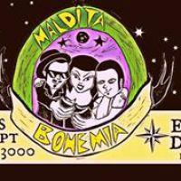 SANTIAGO: VIERNES 30 DE SEPTIEMBRE DE 2016 - MALDITA BOHEMIA