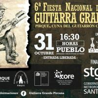 PIRQUE: LUNES 31 DE OCTUBRE DE 2016 - 6° FIESTA NACIONAL DE LA GUITARRA GRANDE