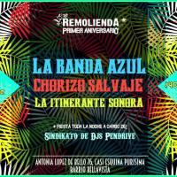 REMOLIENDA PRIMER ANIVERSARIO * viernes 02 de diciembre de 2016 #recoleta #BarRemolienda