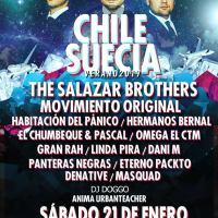 sábado 21 de enero de 2017: CHILE SUECIA #huevo #valpo
