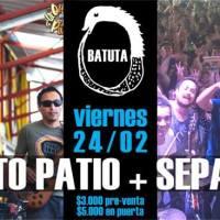 viernes 24 de febrero de 2017: LA QUINTO PATIO + SEPAMOYA #batuta