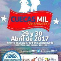 sábado 29 y domingo 30 de abril de 2017: CUECAS MIL #sanbernardo