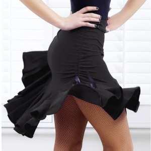 Latin Salsa Tango Rumba Cha Cha Ballroom Dance Skirt Adult