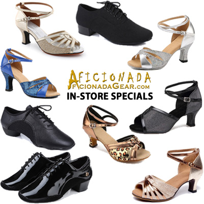 Aficionada Dance Gear (ADG) In-Store Specials