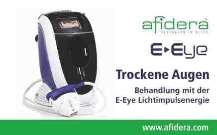 E-Eye Behandlung trockene Augen