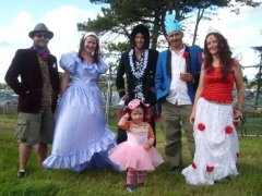 family camp bestival festival