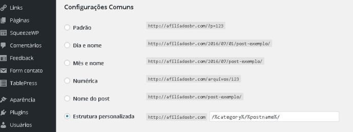 como remover o index php no wordpress