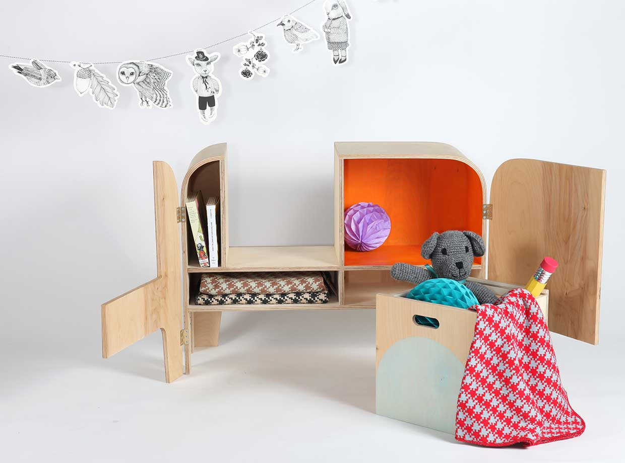 Uniphant A Play Furniture And Shelf For Kids By Stina