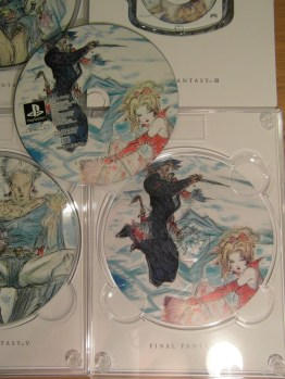 You can see the art is also printed on the case.