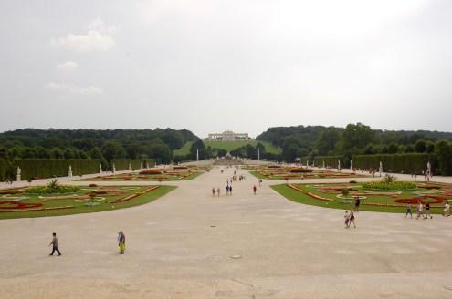 Schönbrunn garden and park