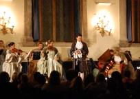 At a concert at La Scuola Grande di San Teodoro in Venice, July 2010