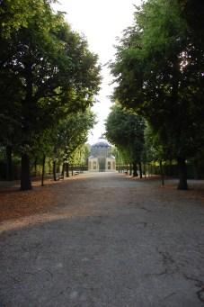 At the Schönbrunn park