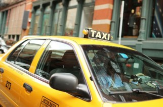 NEW YORK, NY - SEPTEMBER 04:  A taxi is viewed on September 4, 2012 in New York City. As of Tuesday, yellow taxis may begin charging more following an approved fare increase for riders. Taxi rates have remained virtually unchanged since 2006 and will now rise by an expected 17 percent.  (Photo by Spencer Platt/Getty Images)