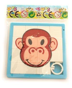 przesuwanka łamigłówka małpka