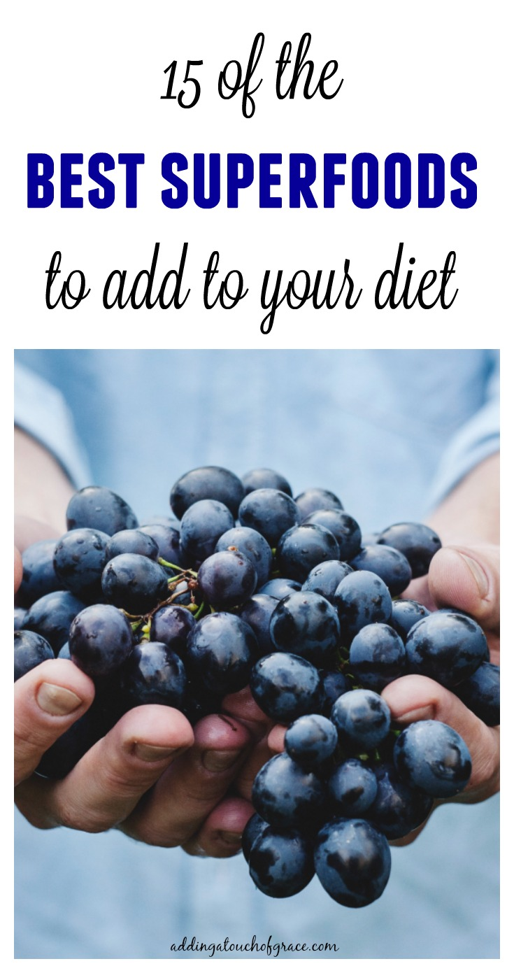 Superfoods are so important to have in your diet. These 15 are some of the best to incorporate into your meals.