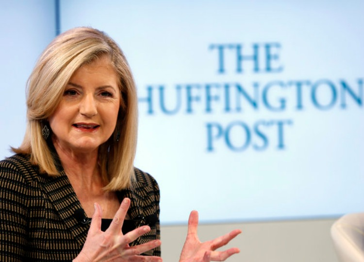 arianna leaving huffpo
