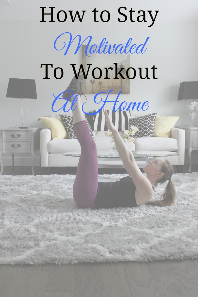 Working out at home is actually really easy! Sharing a few tips on how I stay motivated to workout at home!