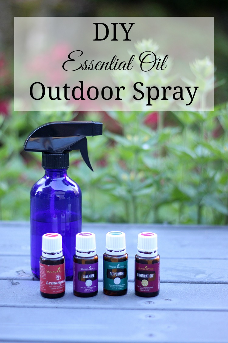 This DIY essential oil outdoor spray is perfect for keeping those summer annoyances at bay. And it smells amazing!