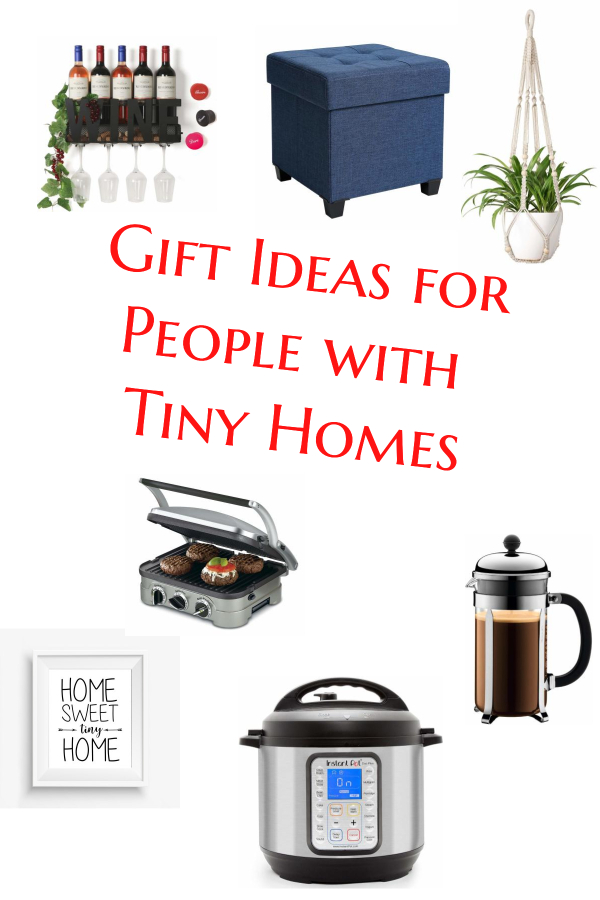 Gift ideas for people who live in tiny homes.