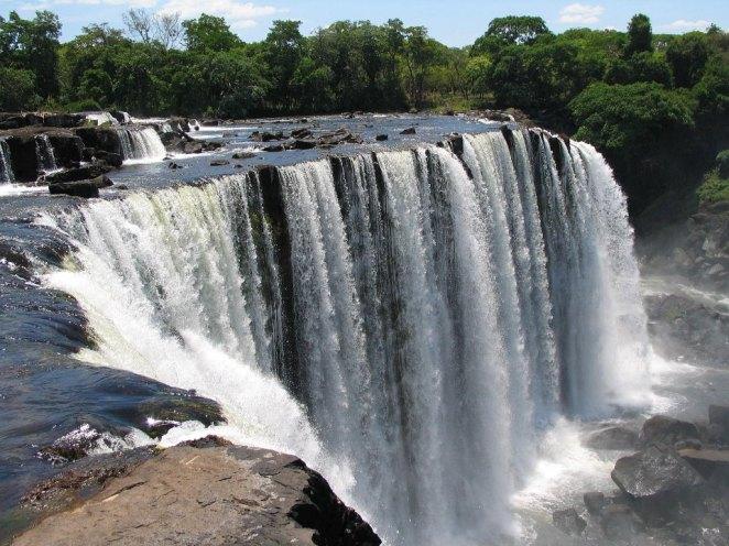 Lumangwe waterfall zambia