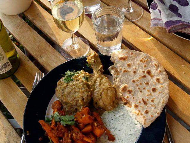 Chapati (cyclonebill / Wikimedia commons)