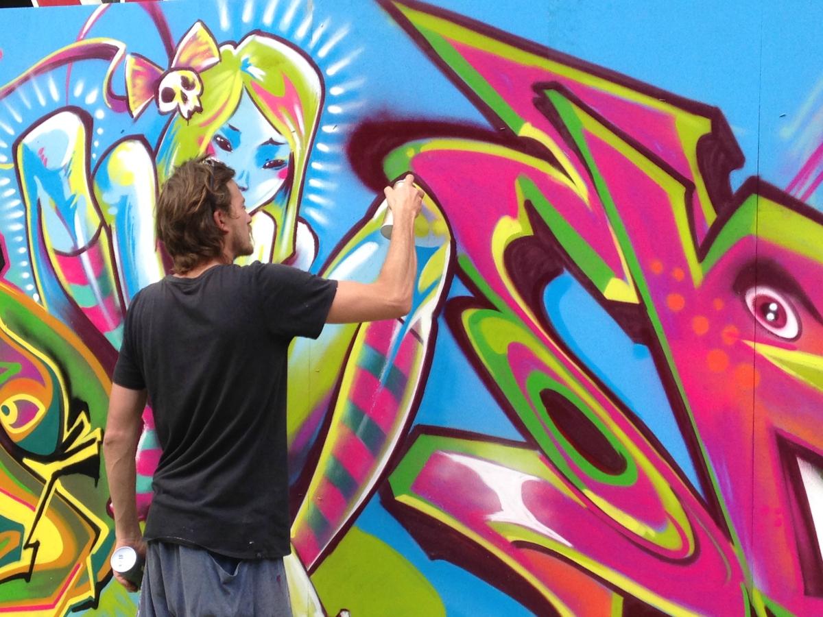 Victoria Falls Wallpaper Art In The Street 15 Photos Of Graffiti Art In