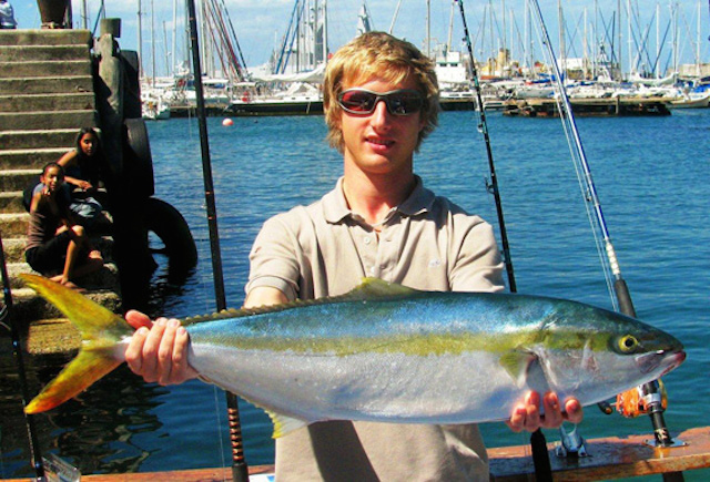 big blue fishing charters in cape town
