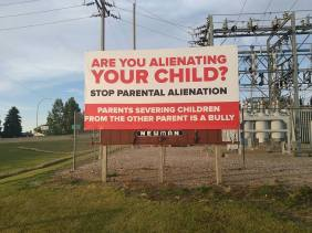 parental alienation bully billboard - 2016