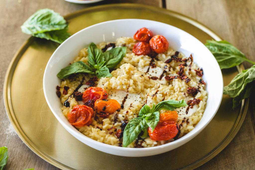 Caprese Risotto with RiceSelect®