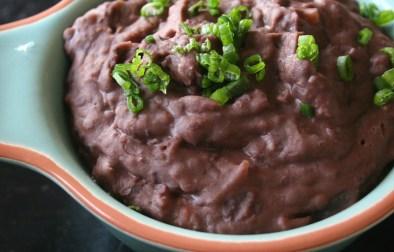 creamy black beans | aflavorjournal.com