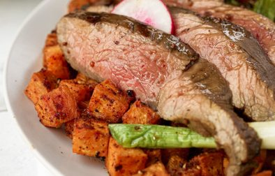 Kansas Beef Marinated Flank Steak and Vegetable Hash-14