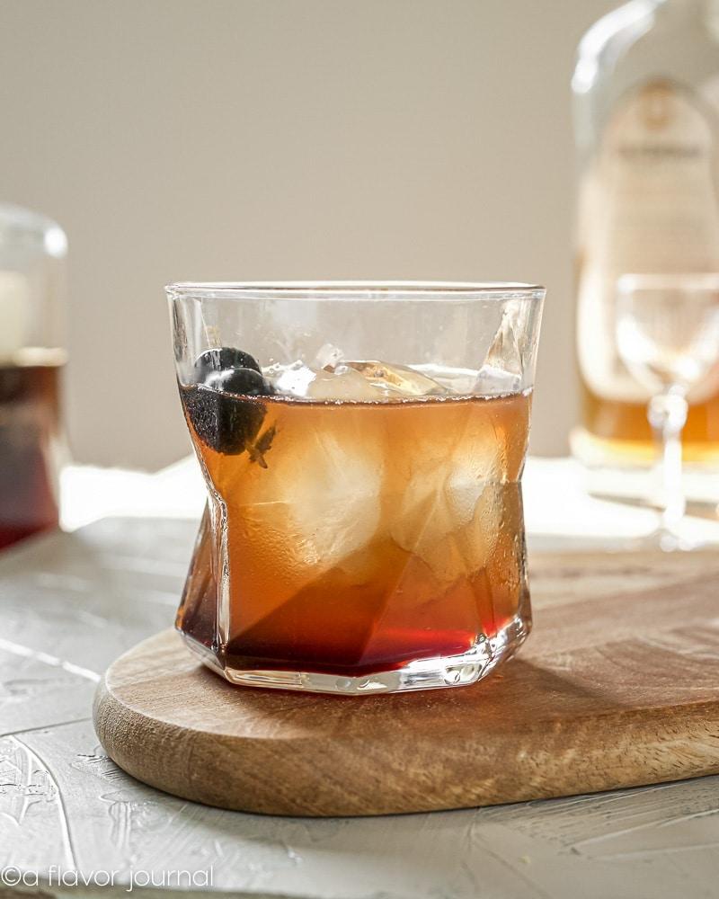 Man O War Cocktail with Luxardo Juice