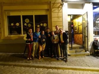Soirée enrichissante au Luxembourg !