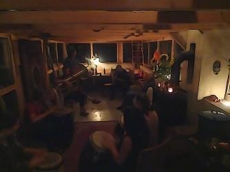 Le moment de flou artistique de la soirée chez Martin...