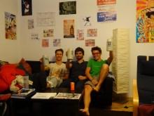 Premier CouchSurfing, chez Nils