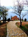 Monténégro - Une eglise au dessus du lac d'Ohrid