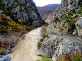 Albanie - La descente des gorges