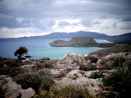 La côte sud de Rhodes