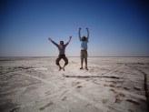 Iran - Les touristes dans le désert
