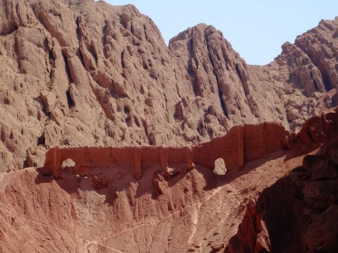 Aux abords du désert