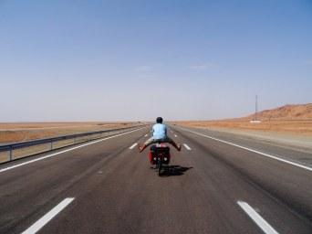 Autoroute désertique