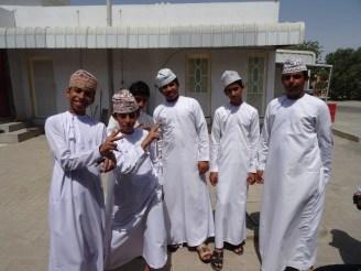 Tenue traditionnelle omanaise