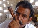 Inde : L'homme au shilom