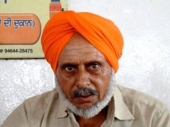 Sikh en tenue tradi