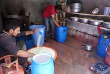 Le curd du laitier